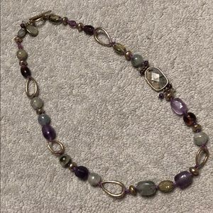 Sigrid Olsen purple and blue necklace